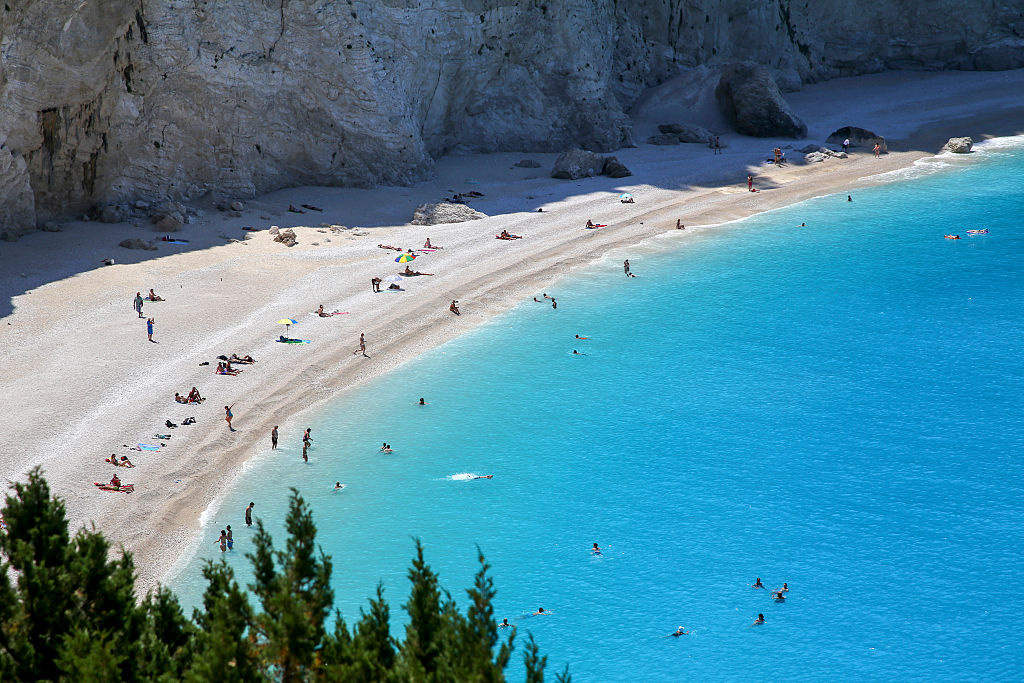 Porto Katsiki, Lefkada, Getty