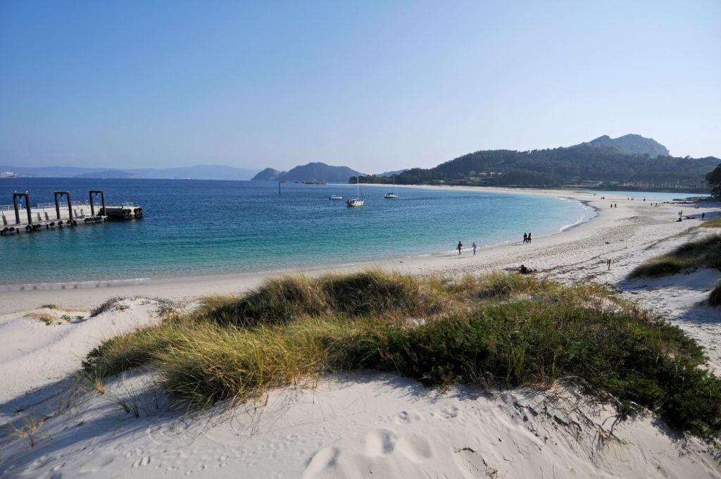 Praia das Rodas, Islas Cíes, Galicia, Getty