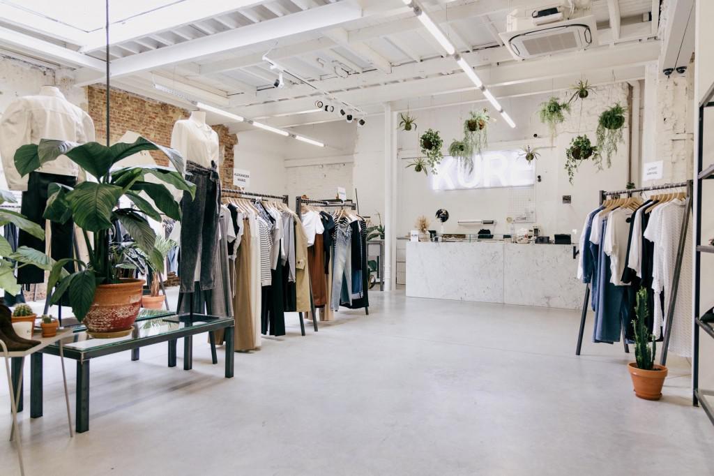 La boutique Kure dans le quartier Louise