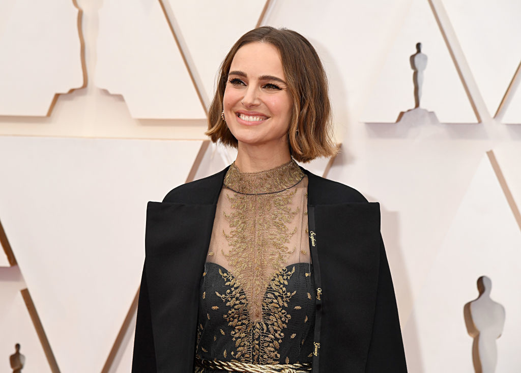Nathalie Portman lors des Oscars 2020, Getty