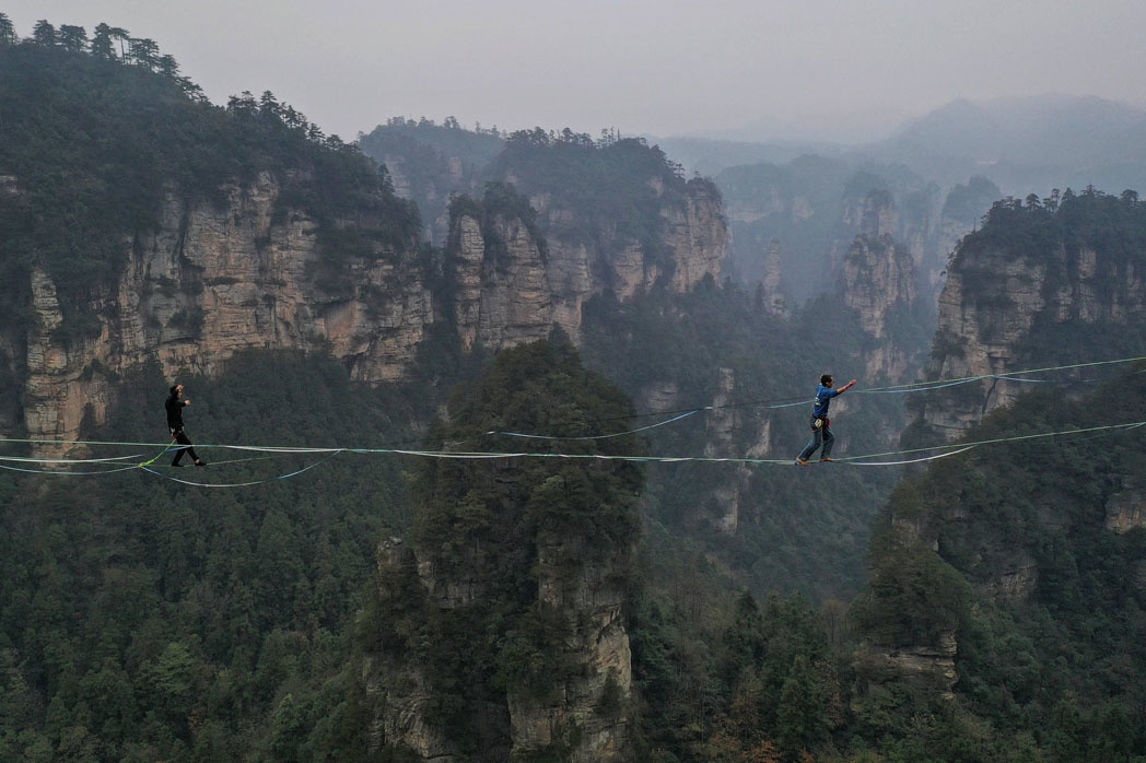Zhangjiajie national park, AFP