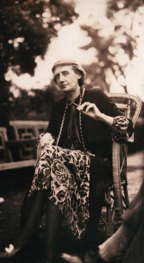 """Virginia Woolf (1882-1941), femme de lettres britannique et icône féministe, qui a popularisé le concept de """"chambre à soi""""., Getty images"""