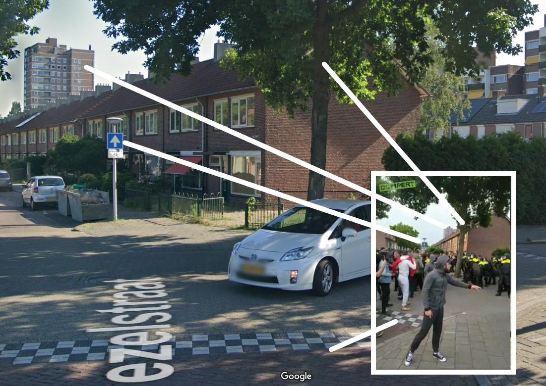 Google Streetview/Dumpert.nl