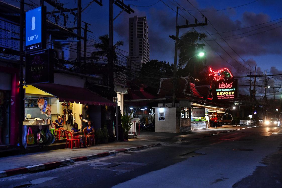 Phuket, début octobre, AFP