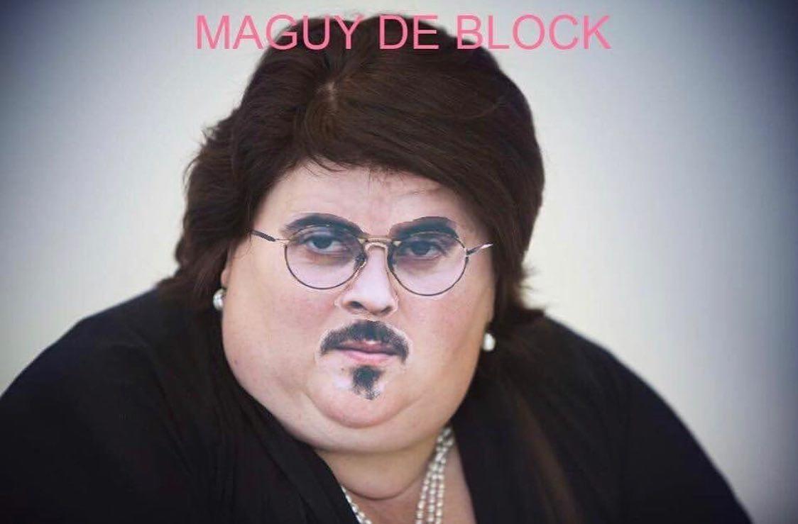 """Maguy De Block"", Zwangere Guy"