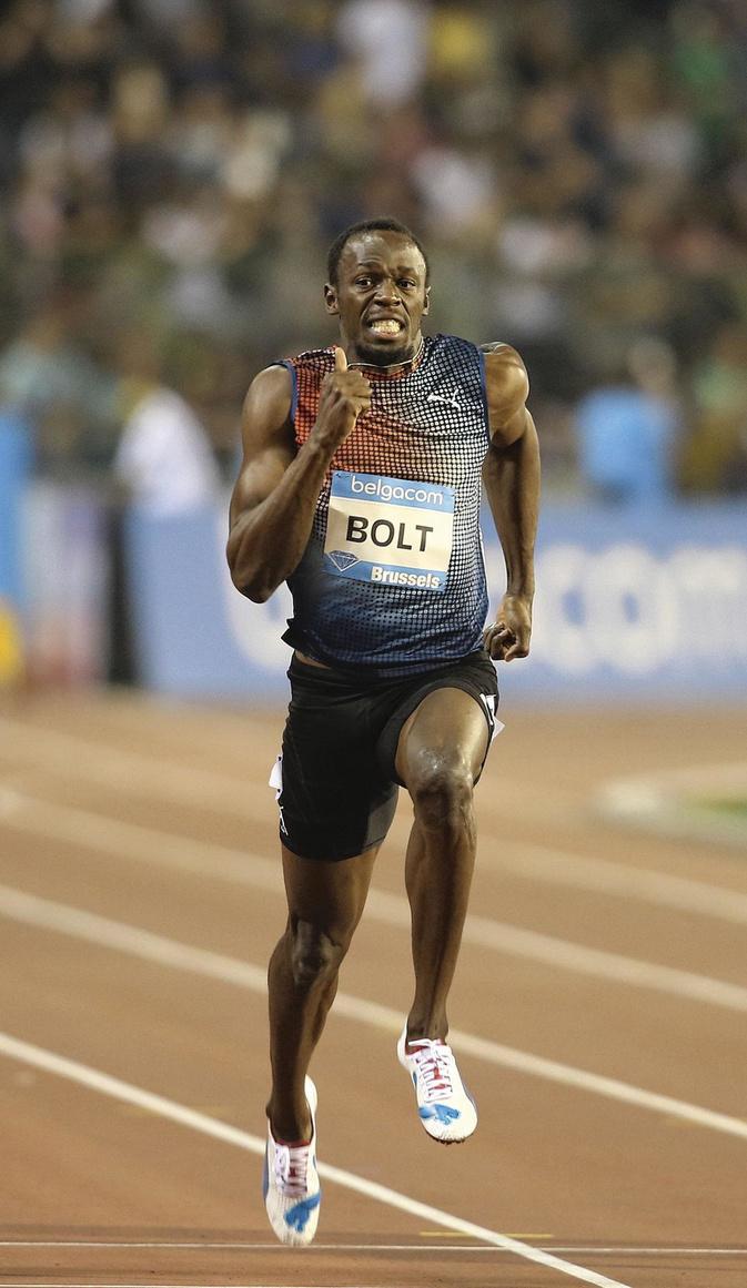 Usain Bolt, INGE KINNET