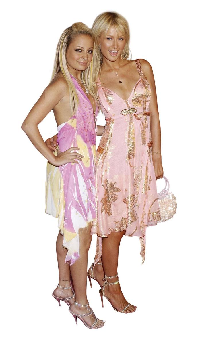 Met Nicole Richie op de première van The Simple Life., beelden: getty images