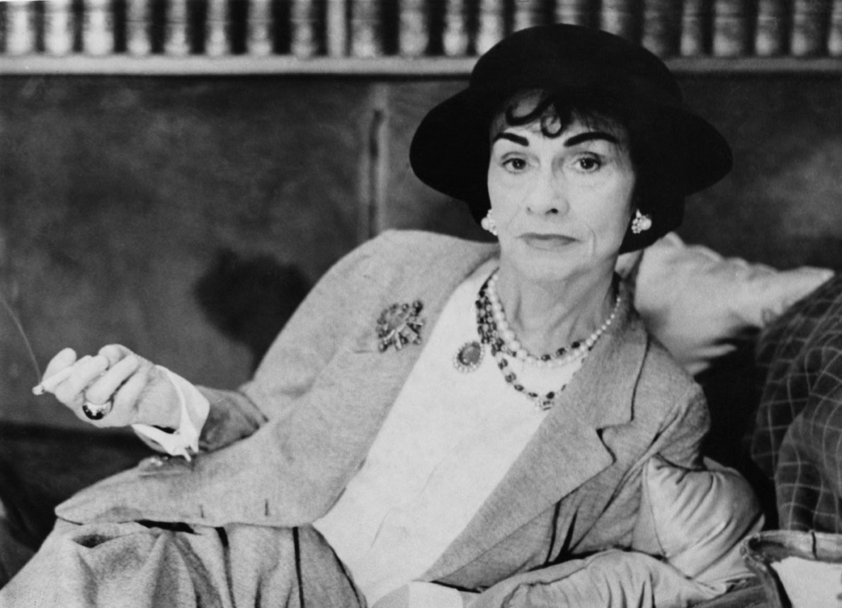Coco Chanel en 1962, Getty Images