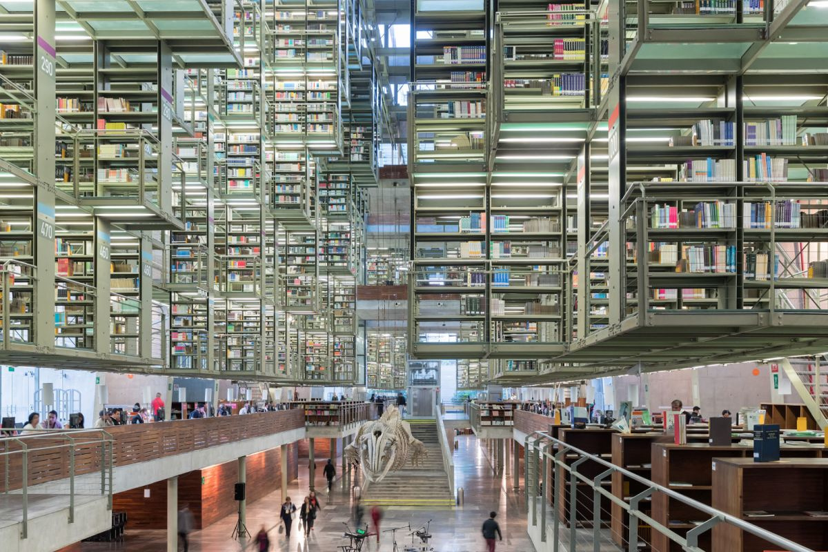 Biblioteca Vasconcelos, Iwan Baan