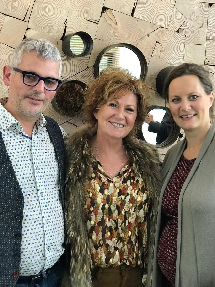 Ook Marc en Magali van Ment TV zijn goede vrienden van Ida., Repro FODI
