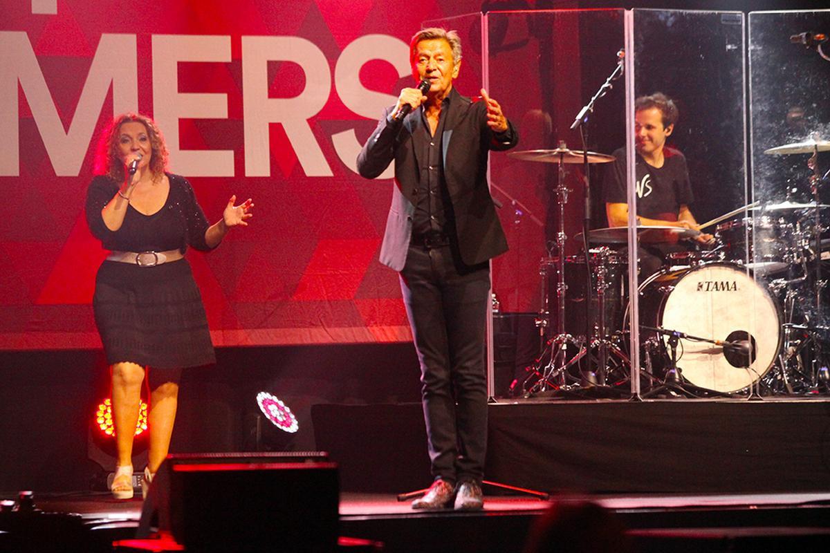 De fans zongen natuurlijk mee met zijn bekende hits., PADI/Daniël