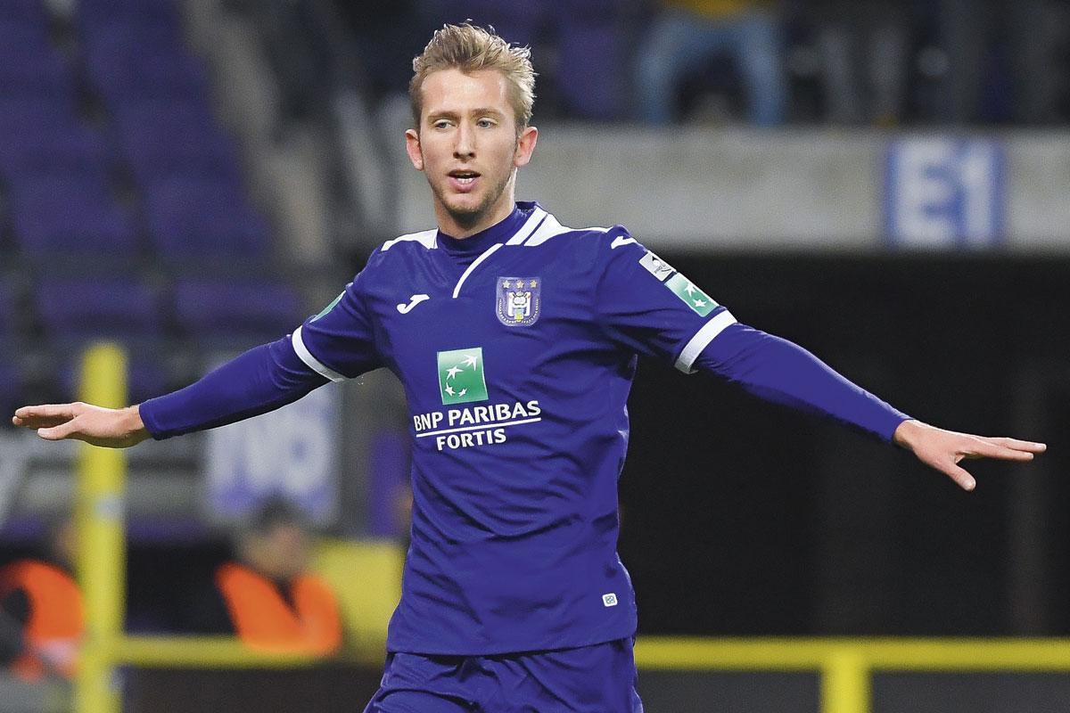 Michel Vlap (Anderlecht), BELGA