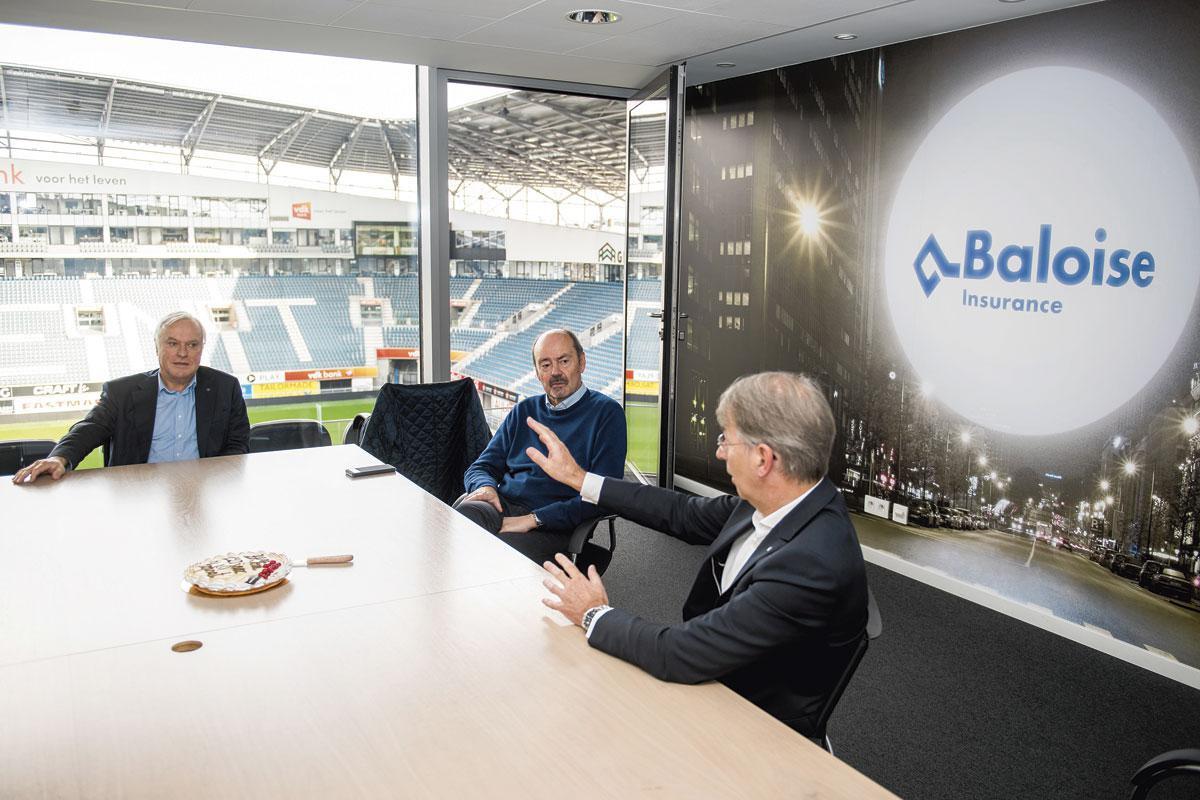 Bart Walraet: 'KAA Gent is voor mij de meest klassevolle club in eerste afdeling. Hier hangt een zekere standing, een positieve sfeer.', BELGAIMAGE