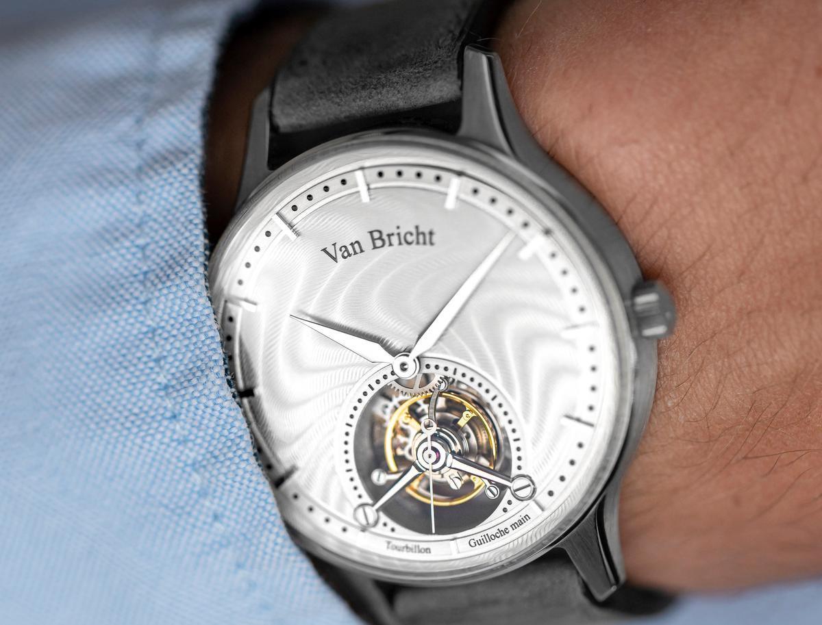 Het eerste Van Bricht-uurwerk, een tourbillon., GF / Maarten Slaets