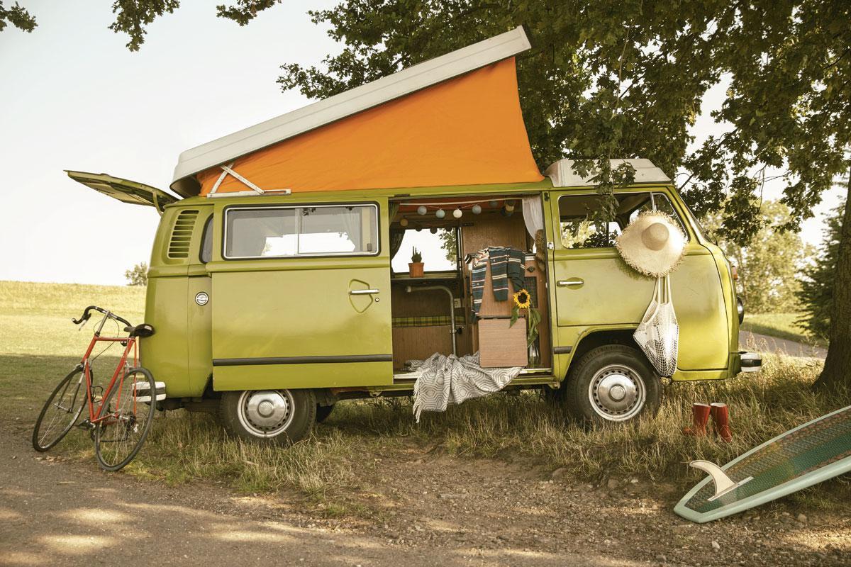 Le van (ou combi), sorte de camionnette améliorée, connaît un regain d'intérêt., getty images