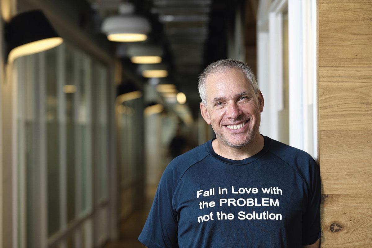 Uri Levine, cofondateur de Waze, PG