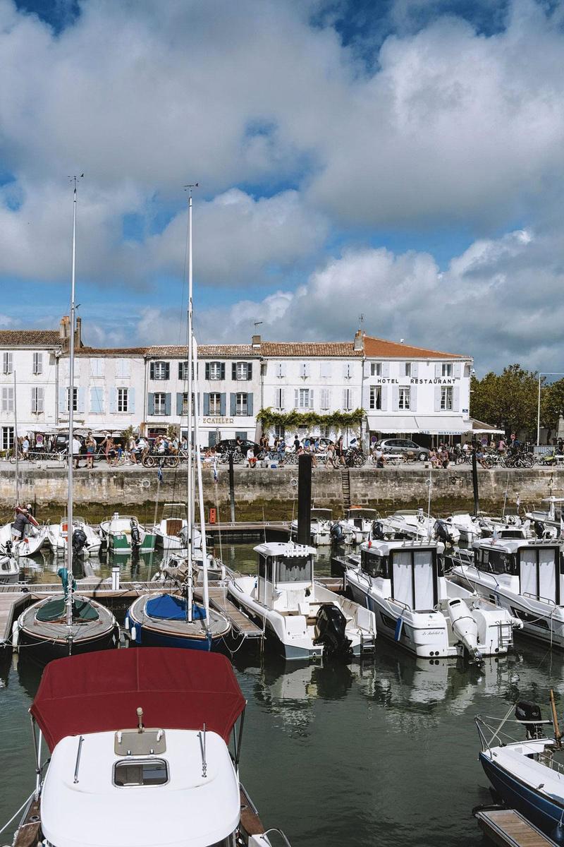 Le port de Saint-Martin-de-Ré., MAUD SIMON
