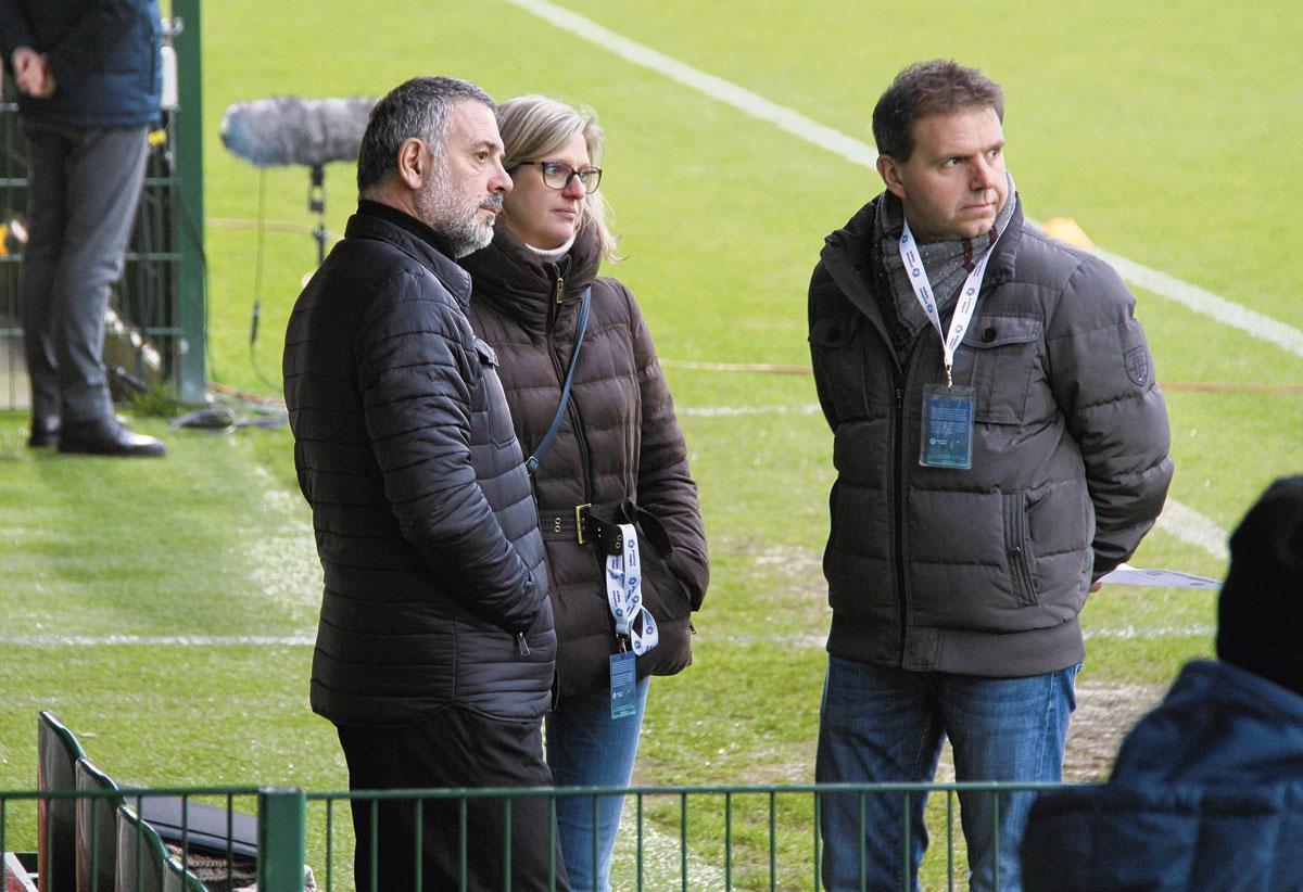 Christian Bracconi (à gauche) a été nommé T1 début décembre., Emilien Hofman
