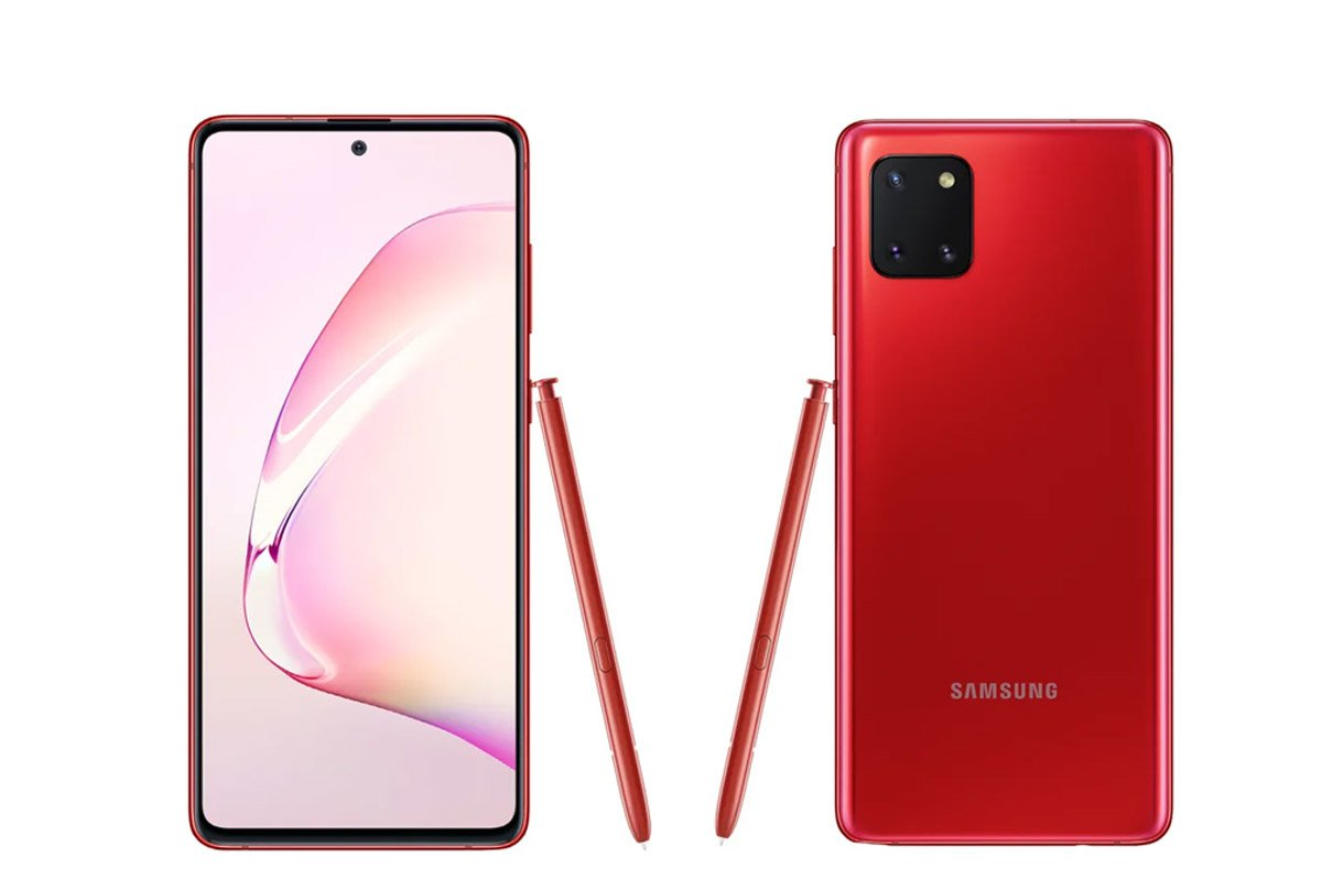 Samsung Galaxy Note 10 Lite, Samsung