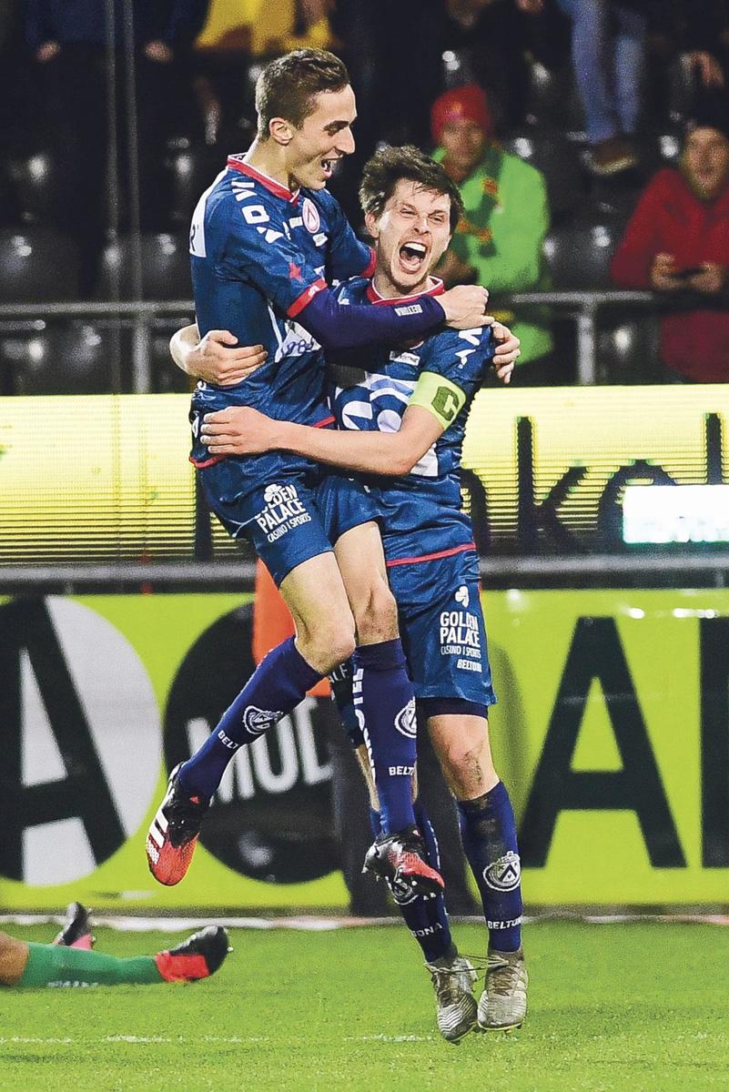 KV Ostende - KV Courtrai 0-3.  Face à Courtrai, l'équipe du Littoral a fait preuve d'une faiblesse inquiétante. Hannes Van Der Bruggen, le capitaine courtraisien, a conduit les siens à une victoire aisée., BELGA
