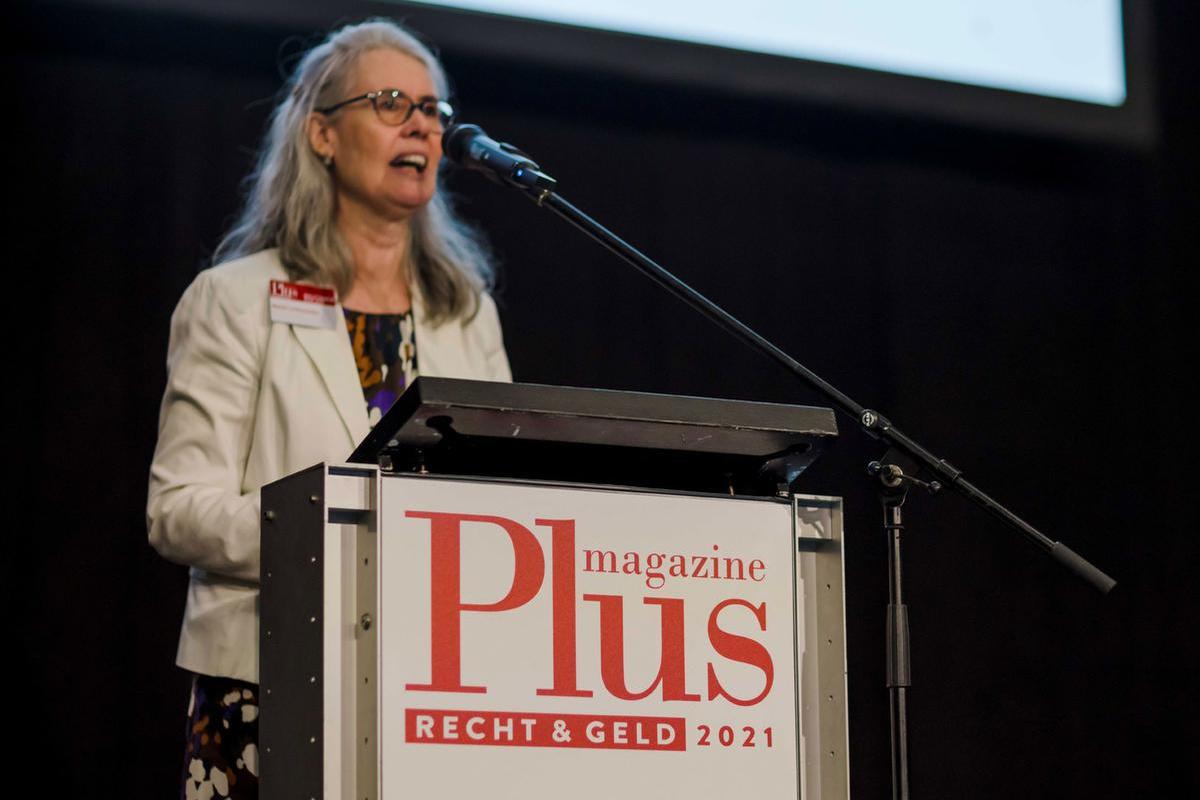 Advocate en pensioenexperte Lut Sommerijns, G.F./Leyla Hesna