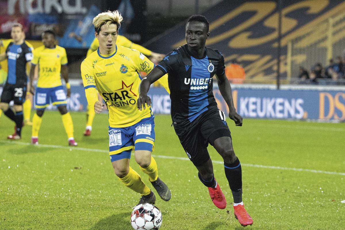 """Krépin Diatta : """" Quand nous avons le ballon, nous tentons de jouer au foot mais s'il le faut, nous pouvons aussi nous montrer agressifs pour le récupérer. """", KOEN BAUTERS"""