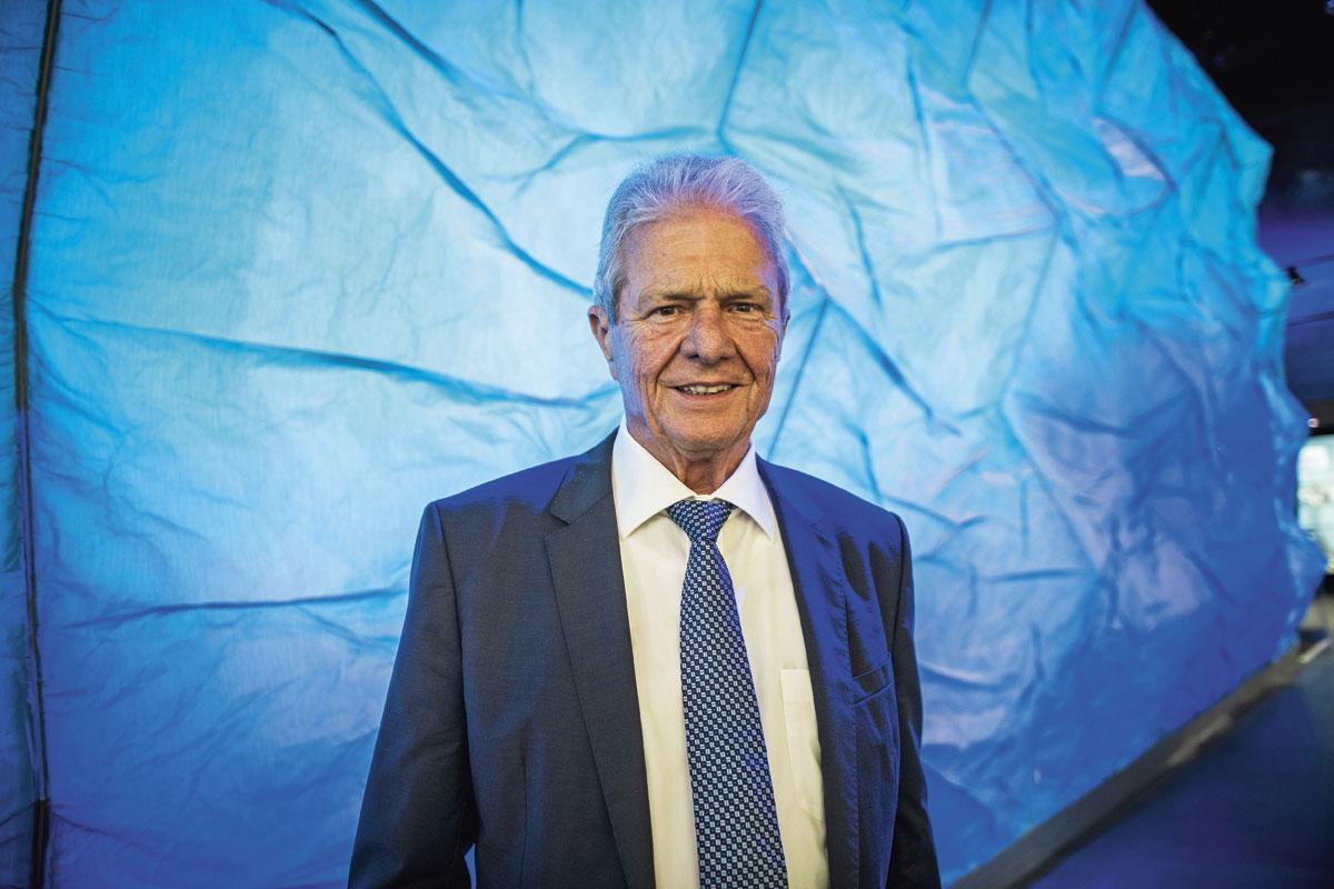 """Dietmar Hopp : """" Je n'ai pas besoin de motivation extérieure pour m'engager au profit du bien-être des gens. """", GETTY"""