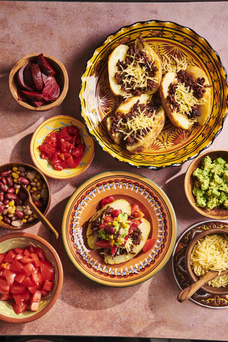 Hoofdgerecht: Overvolle aardappel uit het Incarijk, Cameron Studio