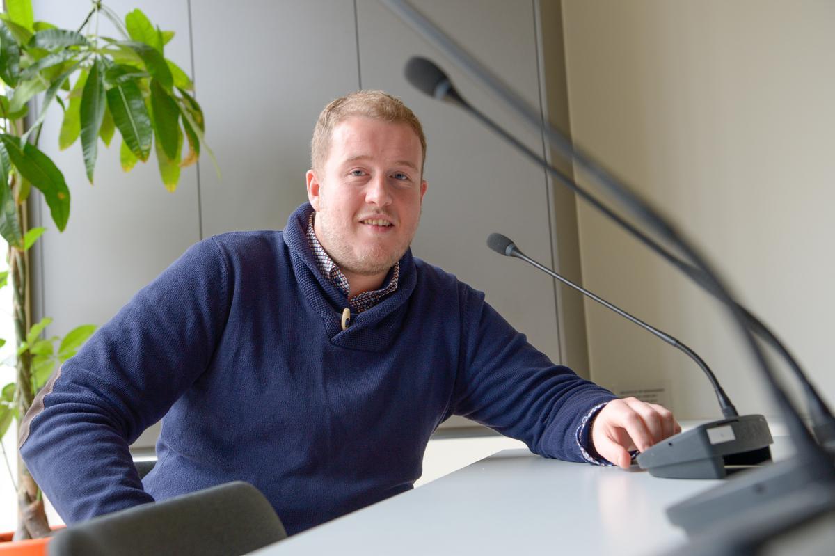Dries Dehaudt is naast Izegems gemeenteraadsvoorzitter ook voorzitter van IVIO., Frank Meurisse