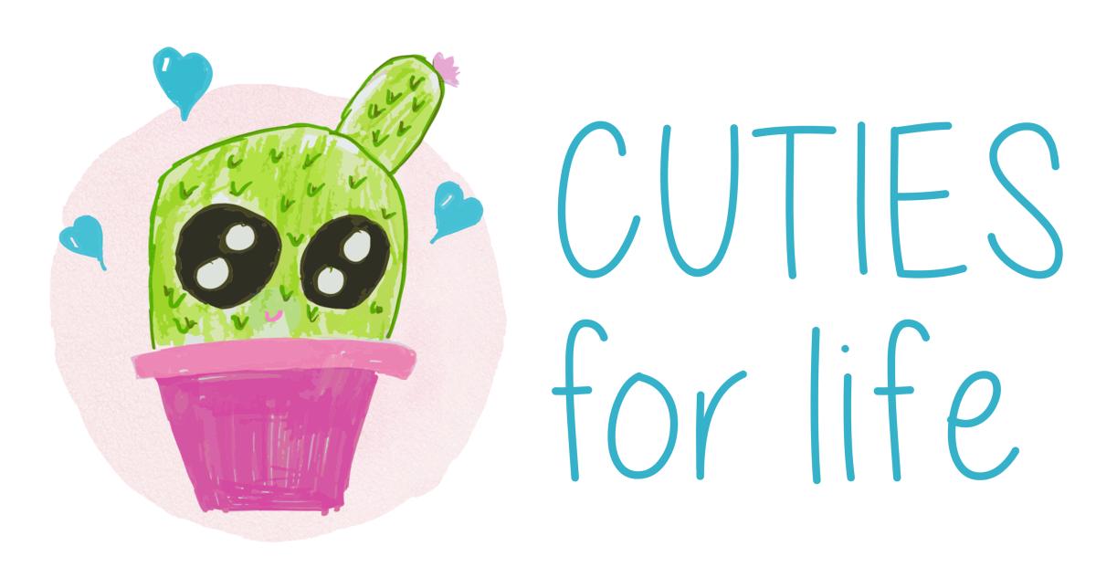 Het logo van Cuties for Life., gf