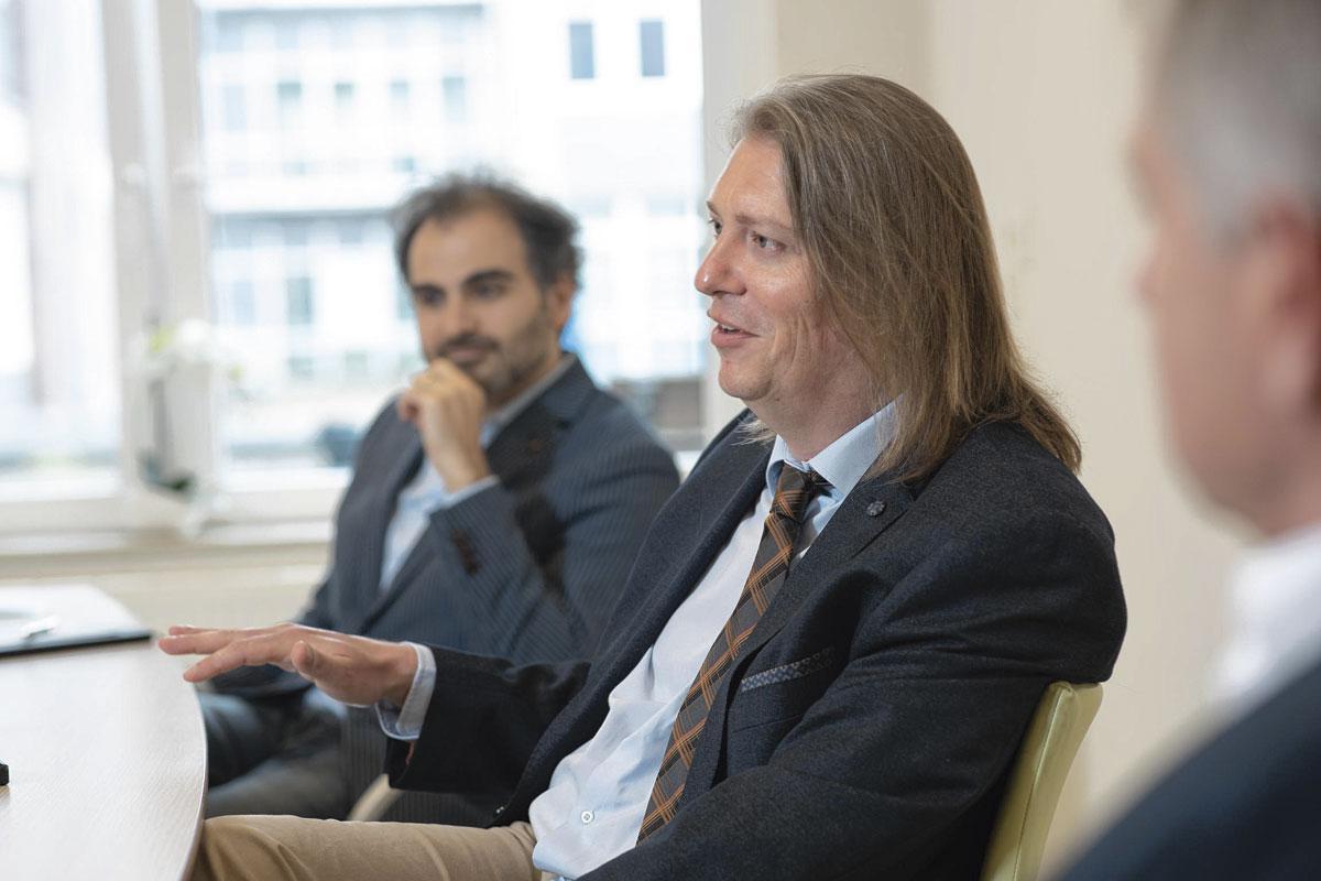 """Jean-Christophe Gautier: """"Nous avons dû, durant une période d'une quinzaine de mois, réaligner les attentes des partenaires et les niveaux de maturité des uns et des autres par rapport au projet de réseau."""", Th. Strickaert"""