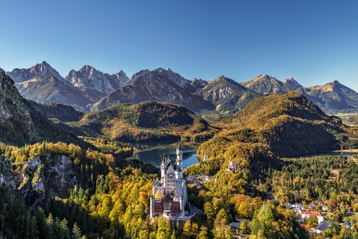 Neuschwanstein, Getty Images