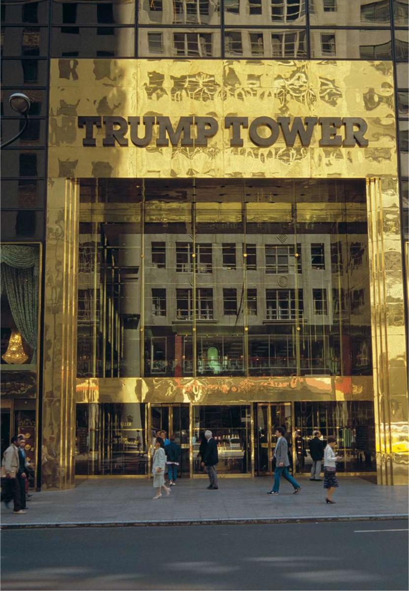 ENtrée de la Trump Tower, AKG-IMAGES