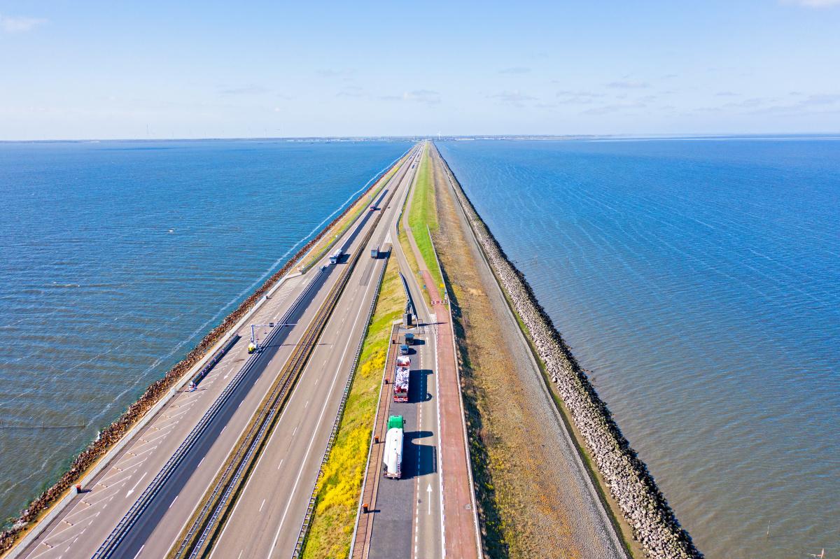 Afsluitdijk, Getty Images