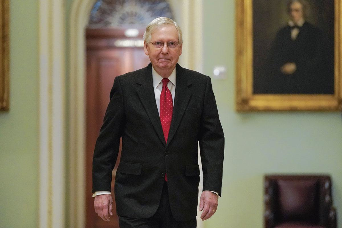 Mitch McConnell, Reuters