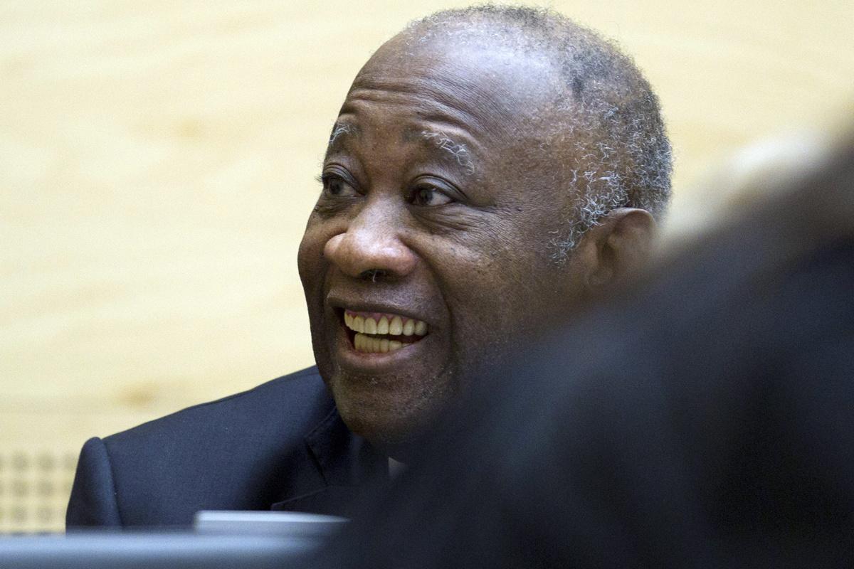 Laurent Gbagbo, oud-president van Ivoorkust.