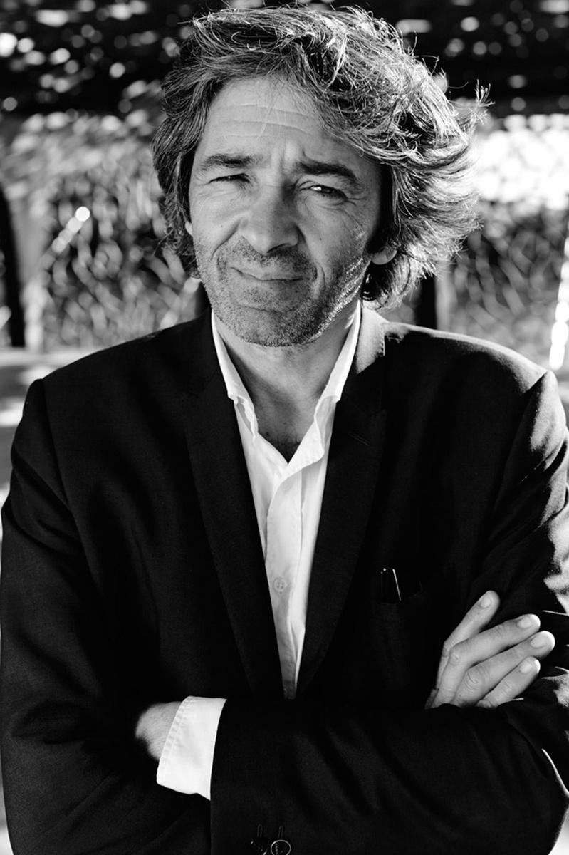L'architecte Rudy Ricciotti, René Habermacher