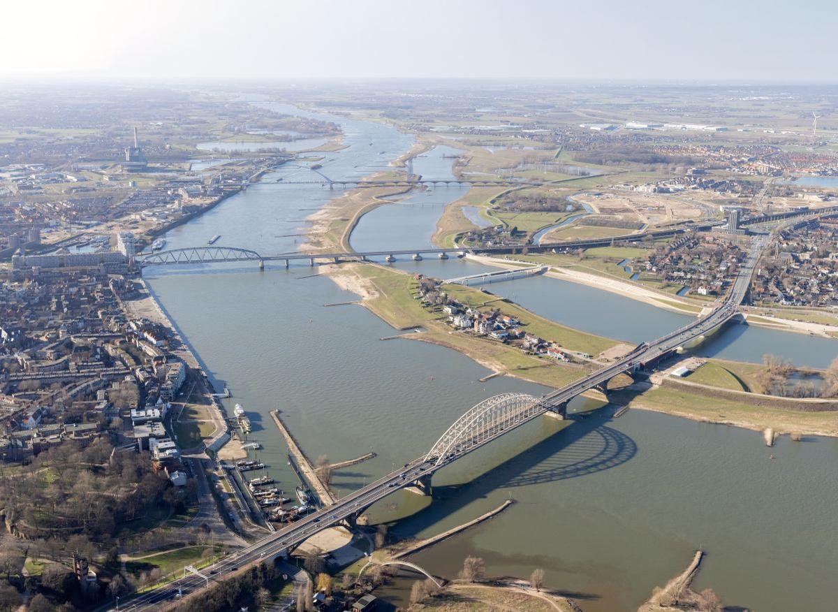 'Room for the River': de Waal bij Nijmegen, Iwan Baan