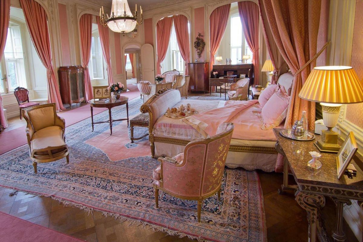 Vue de l'intérieur du Château de Haar, DR