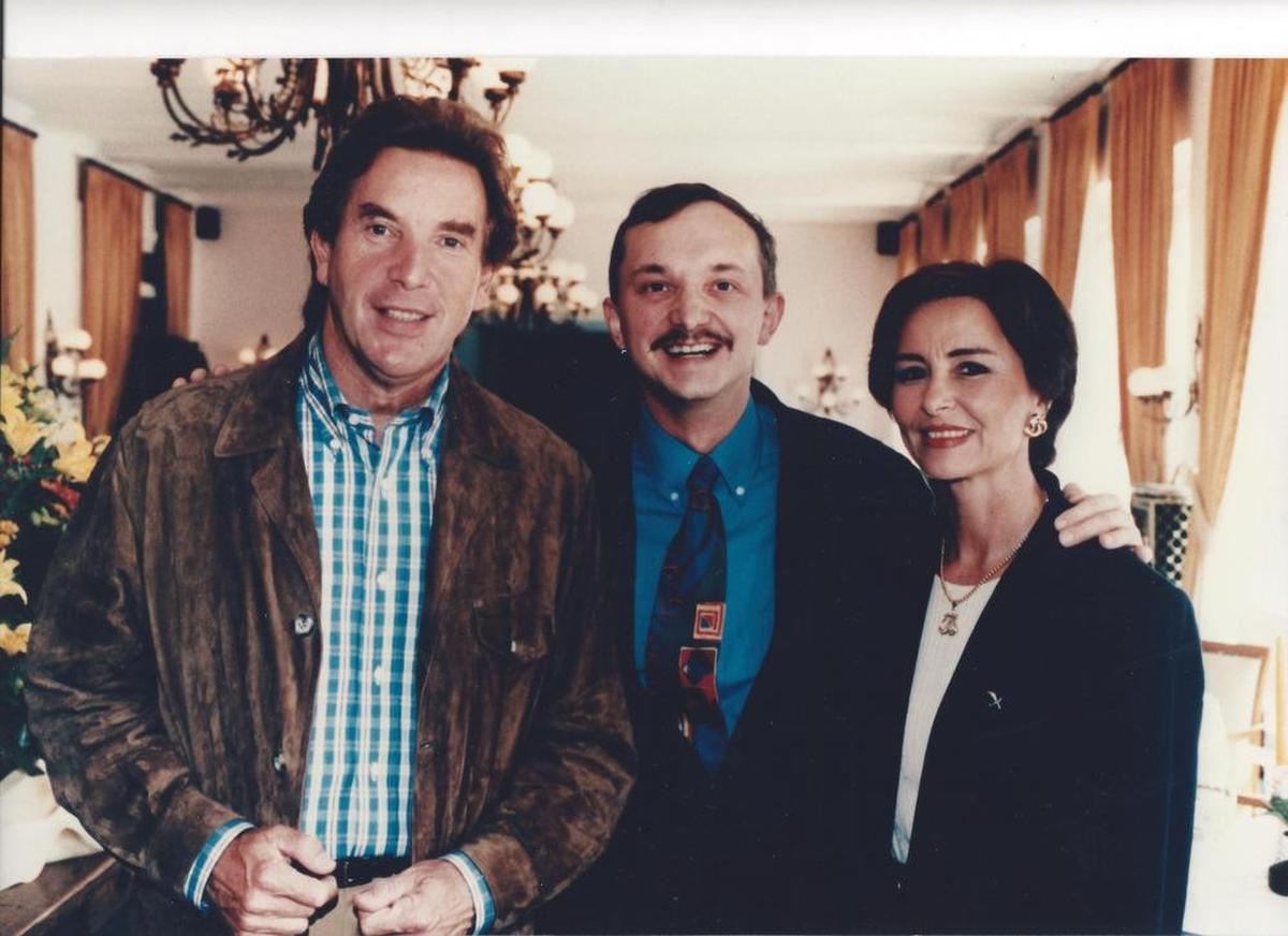 Een onvergetelijk moment in La Réserve in Knokke, samen met Will en echtgenoot Jenny., Archief PADI