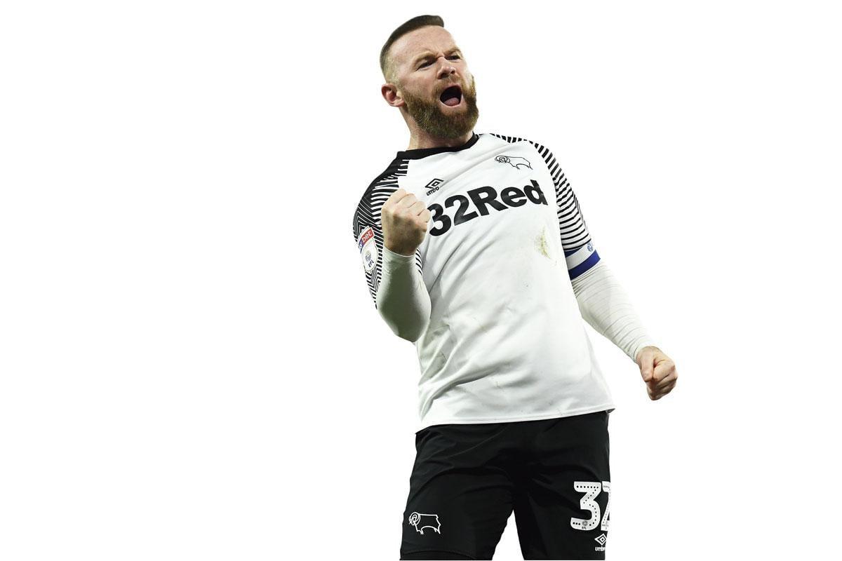 'Wayne Rooney is geen type dat zichzelf op de borst klopt', zegt zijn trainer Phillip Cocu., getty