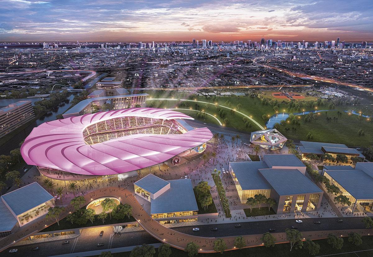 Het Miami Freedom Park, dat klaar moet zijn tegen 2022, draagt een prijskaartje van 888 miljoen euro., GETTY