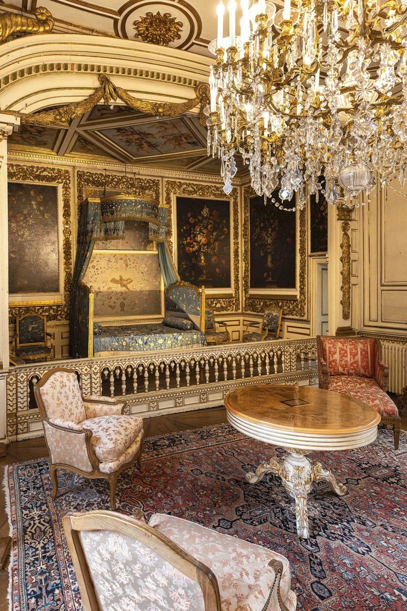 Slaapkamer van de hertog van Montmorency, FRÉDÉRIC RAEVENS