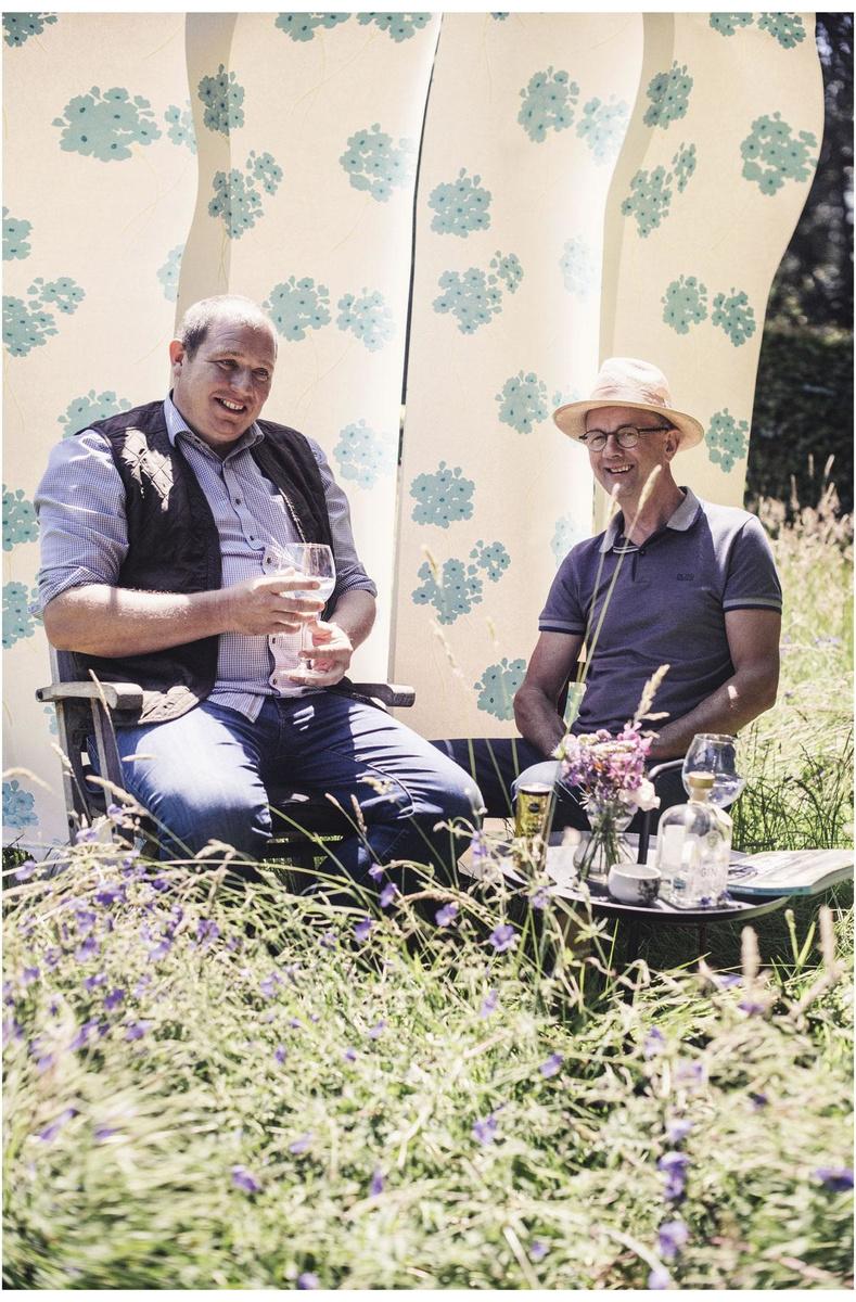Marc Verachtert: 'De tuin dient de mens. Het is toch fijner om een glaasje te drinken in de schaduw van een boom dan in de volle zon?', Carmen De Vos