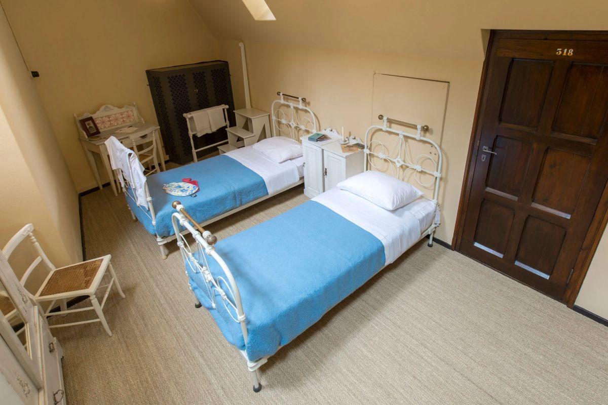 Kasteel de Haar: slaapkamer van het personeel, Getty Images
