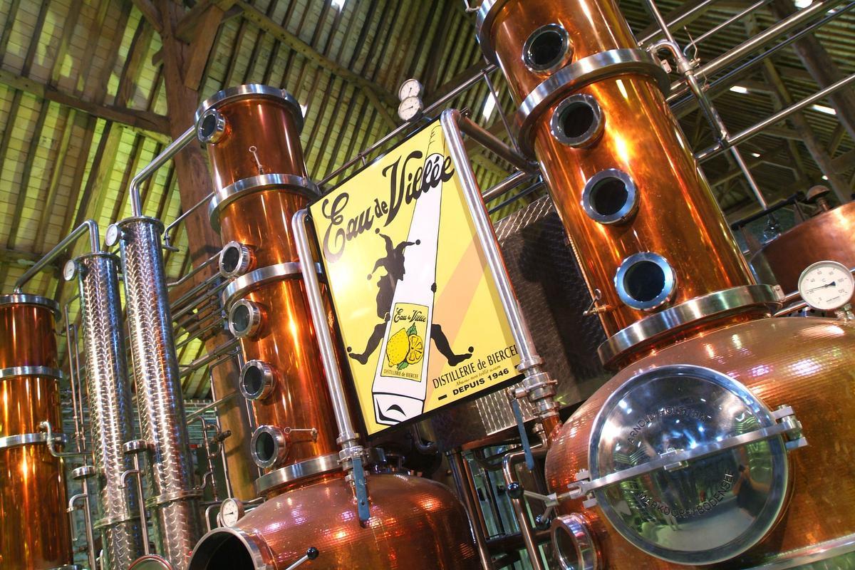 Distillerie de Biercée, WBT - JL Flémal