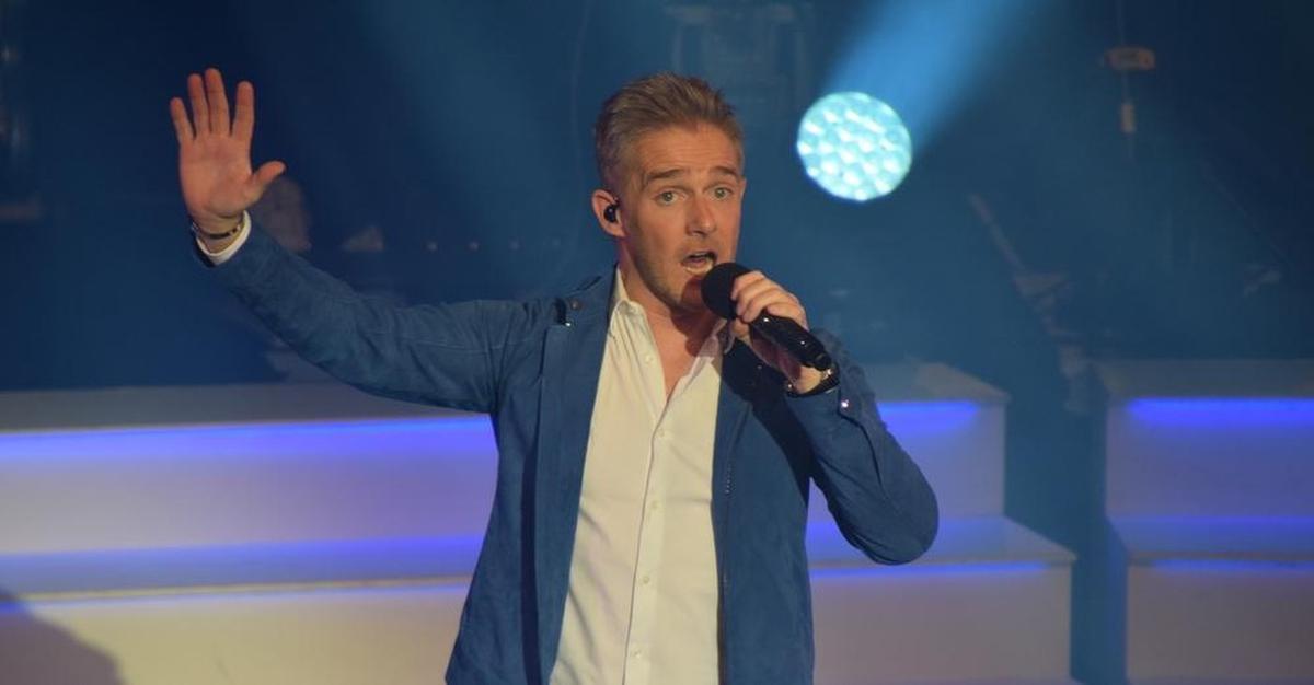 Eén van de artiesten waarmee House of Entertainment goed samenwerkt is Christoff, die nu zaterdag 11 juli optreedt in Puurs., PADI/Jens