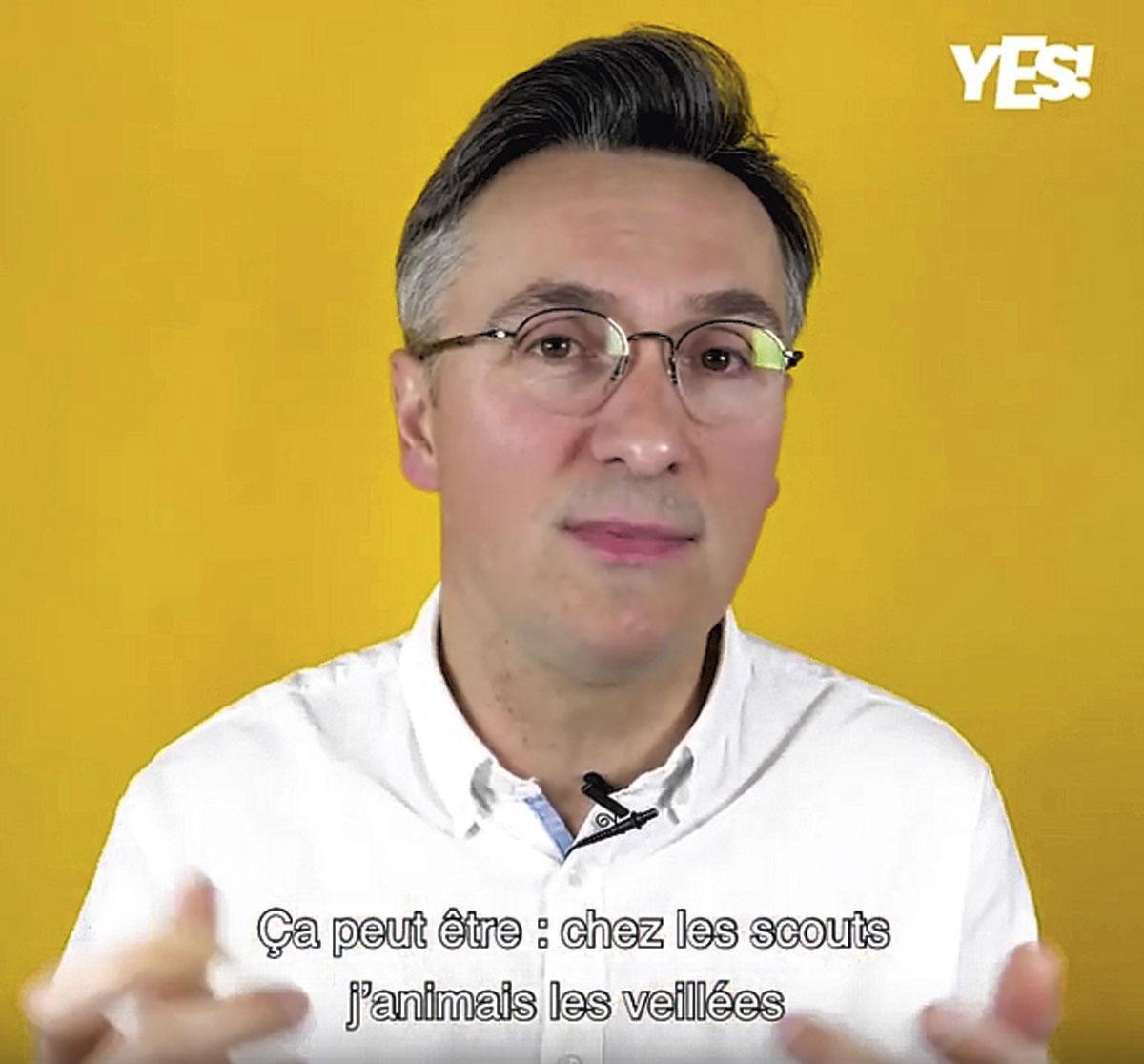 Jean-Charles della Faille accompagne des entreprises et des personnes. Son but : apporter du sens., DR