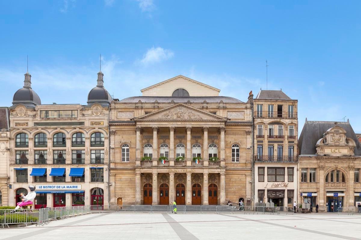 Le théâtre Jean-Vilar à Saint-Quentin, Getty Images