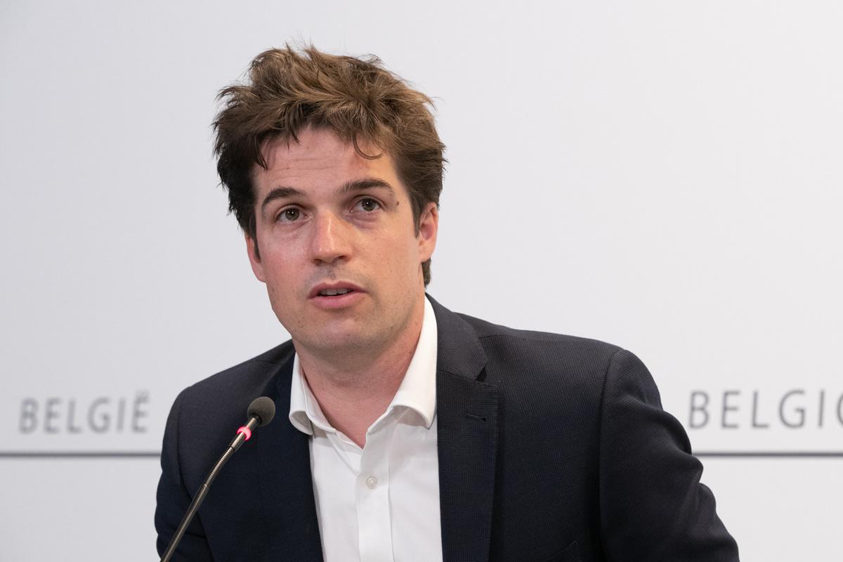 Thomas Dermine (PS), staatssecretaris voor Relance.